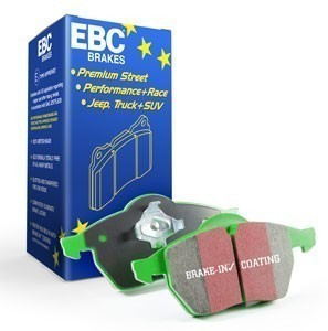 EBC Brakes Front Brake Pad Set - Greenstuff