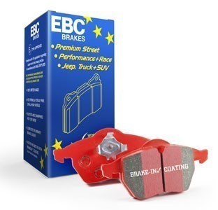 EBC Brakes Rear Brake Pad Set- Redstuff