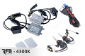 RFB 9007 HID Conversion Kit with CAN-BUS Ballasts - 4300K (Pure White)