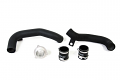 SPULEN MK7/A3/S3 Turbo Outlet Pipe with Turbo Muffler Delete