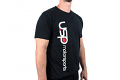USP Motorsports Black Logo T-Shirt- Medium