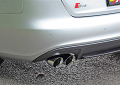 AWE Tuning Audi S4 3.0T Track Edition Exhaust - Chrome Silver Tips (90mm)