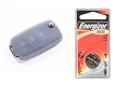 Silicone Key Fob Jelly w/ Battery (Clear) - 2032
