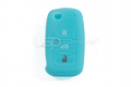 Silicone Glow In The Dark Key Fob Jelly (VW Models)- Blue