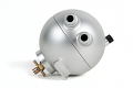 Spulen Billet Spherical Catch Can- Silver