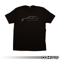034 Motorsports T-Shirt - MK7 GTI Line Art (Medium)