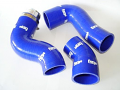 Forge Silicone Boost Hoses for the Audi TTS - Blue