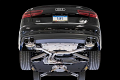 AWE Tuning Audi C7.5 A7 3.0T Touring Edition Exhaust - Quad Outlet, Diamond Black Tips