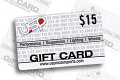 USP $15 Gift Card - One per customer