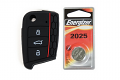 MK7 Silicone Key Fob Jelly w/ Battery (Black) - 2025