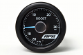 APR Universal Electronic Boost Gauge- Blue Needle, White Face