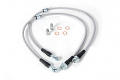 USP Stainless Steel Front Brake Lines- MQB