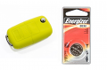 Silicone Key Fob Jelly w/ Battery (Yellow) - 2032