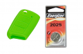 MK7 Silicone Key Fob Jelly w/ Battery (Green) - 2025