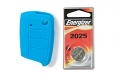 MK7 Silicone Key Fob Jelly w/ Battery (Blue) - 2025