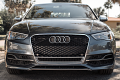 RS3 Mesh Style Grille (Chrome Trim): Audi 8V A3/S3 (2015+)
