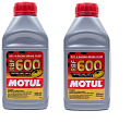 Motul RBF600 Synthetic DOT 4 Brake Fluid 1 Liter Kit