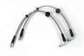 USP Stainless Steel Front Brake Lines- Audi RS6/RS4