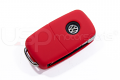 Silicone Key Fob Jelly (VW Models)- Red