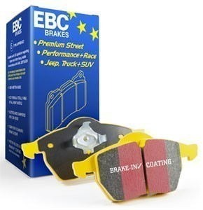 EBC Brakes Rear Brake Pad Set- Yellow Stuff