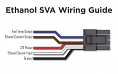 P3 Ethanol Sensor Voltage Adaptor (ECA/ESVA) Wiring Diagram