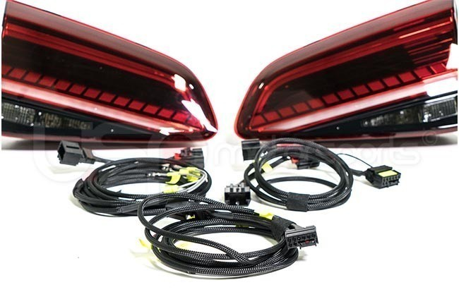 MK7 5 Facelifted Dynamic LED Tail Lights Kit w/ Harness