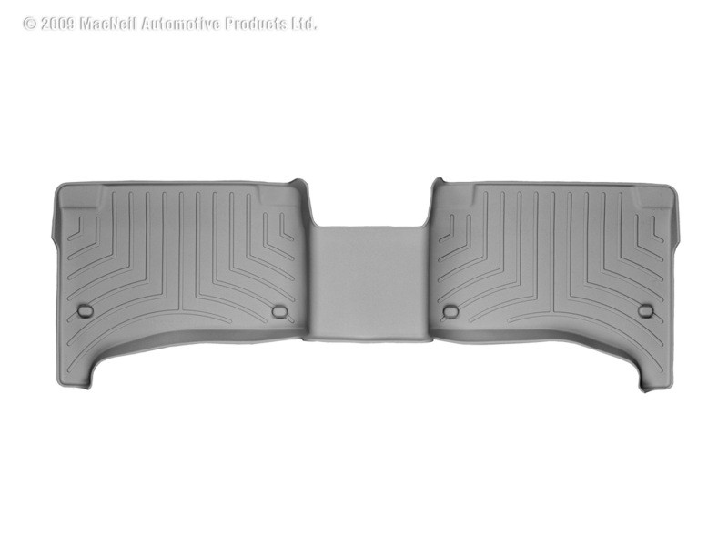 Weathertech Rear Floorliner Grey Porsche Cayenne