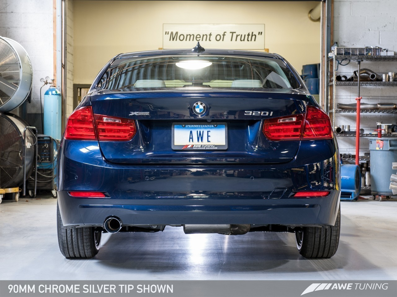 Awe Tuning Bmw F30 320i Touring Edition Exhaust Performance Mid Pipe 3015 23038 18027