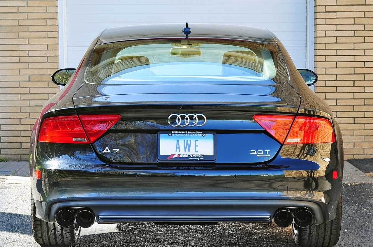 AWE Tuning Audi C7 A7 3 0T Touring Edition Exhaust - Quad Outlet