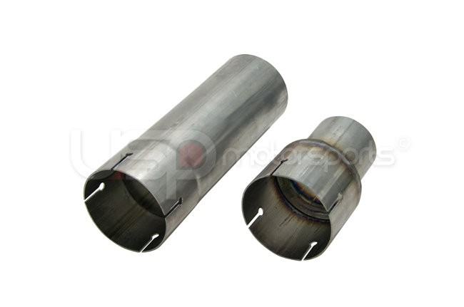 Straight Adapter on Left, Reducer on Right