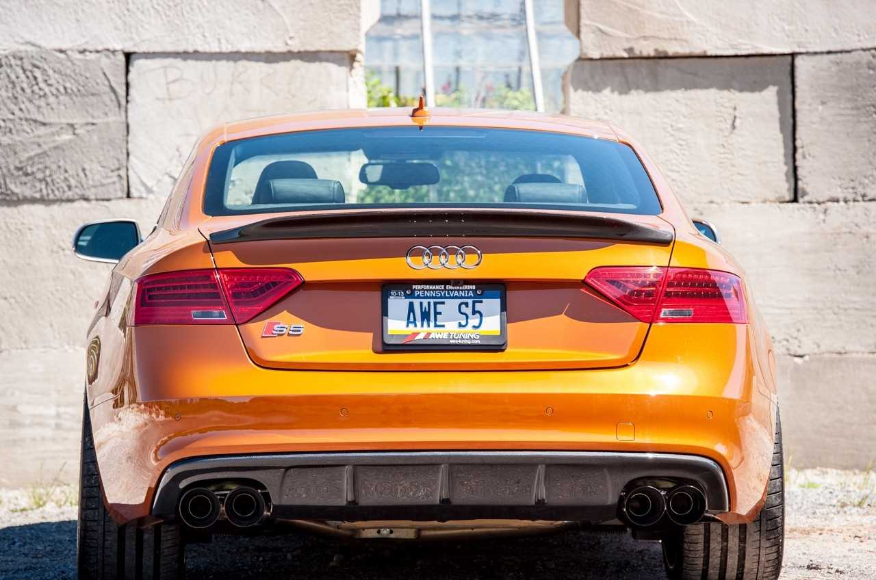 B8 S5 Track Edition Exhaust