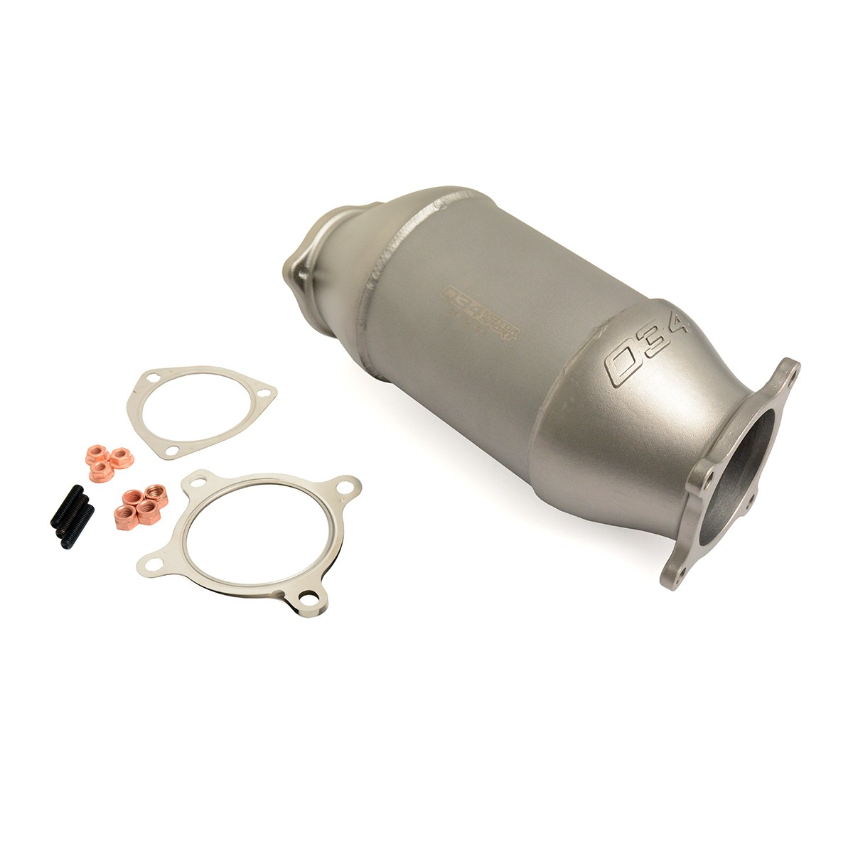 034 Motorsport Cast Racing Catalyst For B9 Audi A4/A5/Allroad 2.0 TFSI