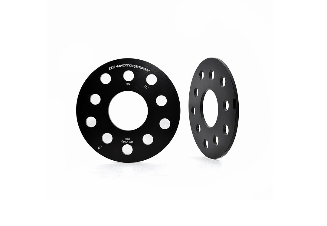 034 Wheel Spacer Pair, 5X112, 5mm Thick, 57.1mm Hub