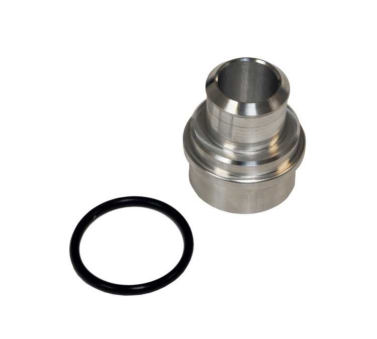 "Block Breather Adapter Billet Aluminum 1"" Nipple For Audi/Volkswagen 1.8T"