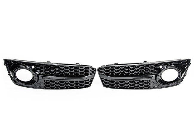 RS4 Mesh Style Lower Grille For Audi B8 A4 (09-2012) Black