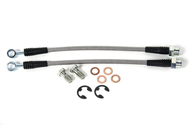 USP Stainless Steel Rear Brake Lines- Bosch Calipers