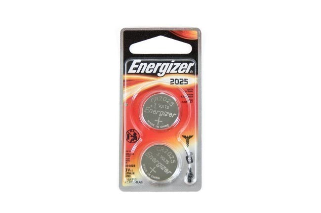 Energizer Lithium Keyfob Battery - 2025 - 2 Pack
