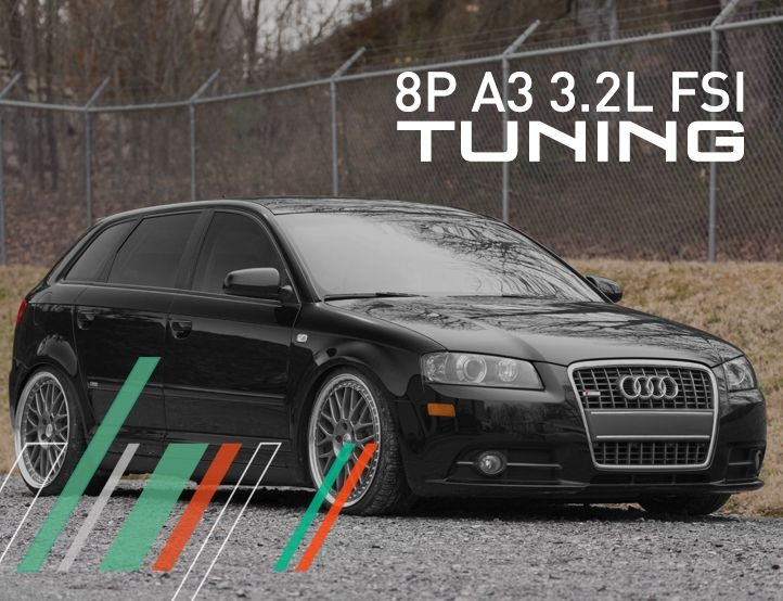 IE Stage 1 Performance Tune (2006-2008.5) For Audi MK2/8P A3 3.2L FSI