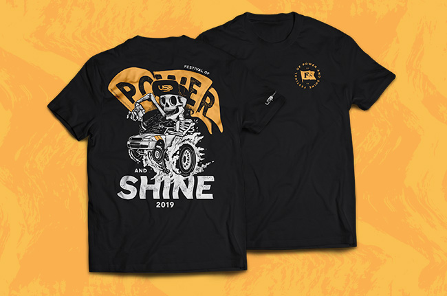USP Motorsports Festival of Power & Shine Limited Edition Shirt - Medium