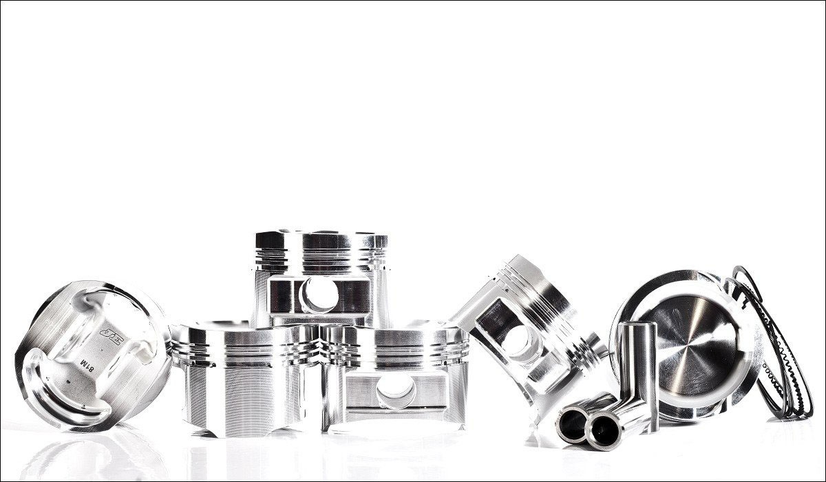 JE Piston Set 82mm 9:1 For 12V VR6