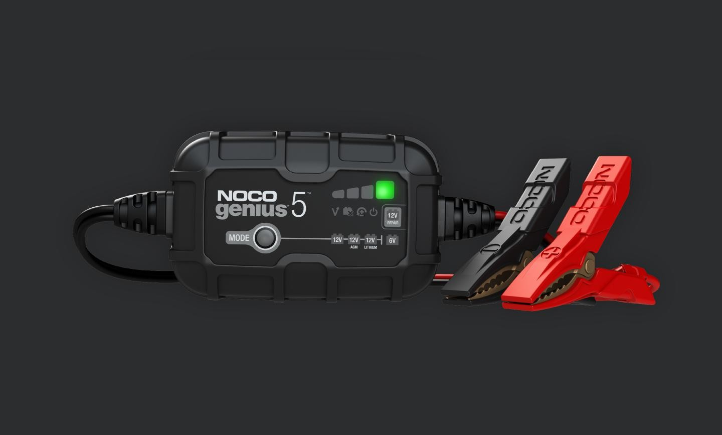 NOCO 5-Amp Battery Charger & Maintainer