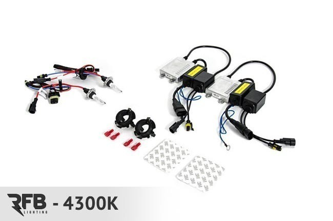 RFB HID Conversion Kit 4300K (Pure White) For MK5