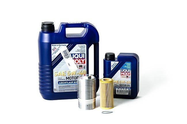 Liqui Moly Complete Oil Service Kit with Cool Flow Filter Housing For 1.8T and 2.0T Gen3