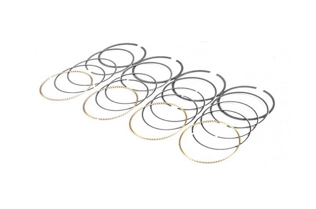 MAHLE Replacement 83MM Piston Ring Set for 4 cylinder