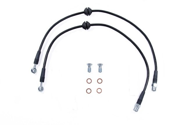 USP Stainless Steel Brake Line Kit Calipers For Audi B8 RS5