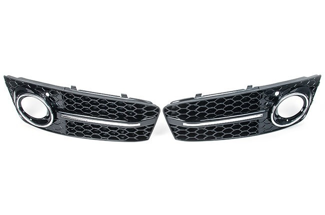 RS4 Mesh Style Lower Grille For Audi B8 A4 (09-2012)