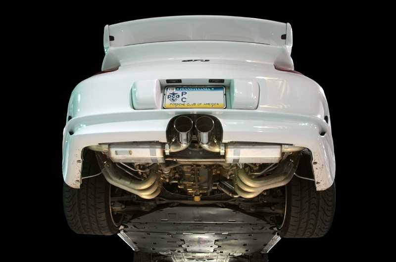 AWE Tuning 997 GT3 Performance Full Exhaust System - Polished Silver Tips