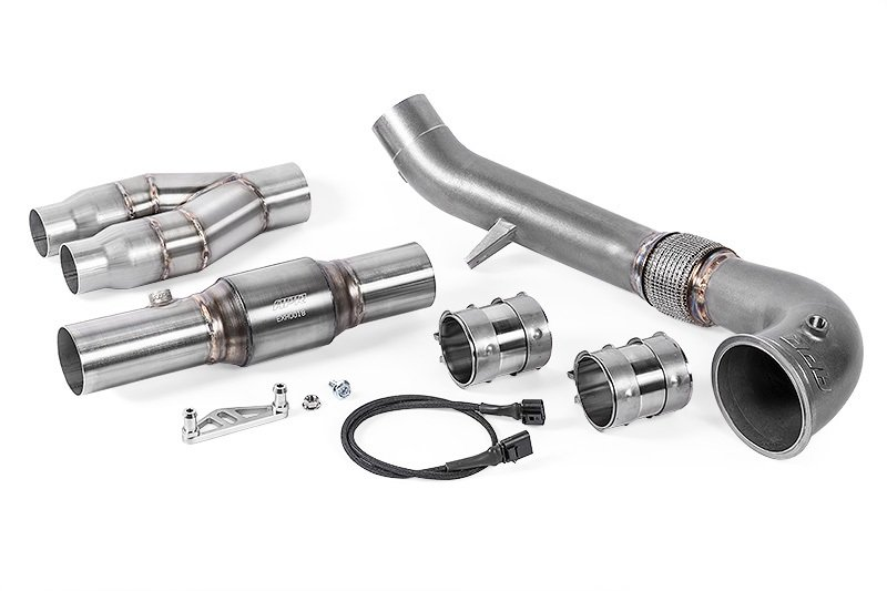 APR Cast Downpipe Exhaust For Audi TTRS