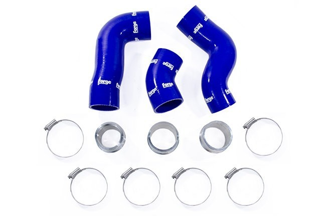 Forge Silicone Boost Hoses Blue For 2.0TSI