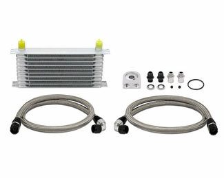 Mishimoto Universal Oil Cooler Kit : 10 Row